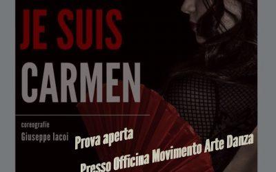 """Je suis Carmen"" compagnia Something Else a Grosseto"