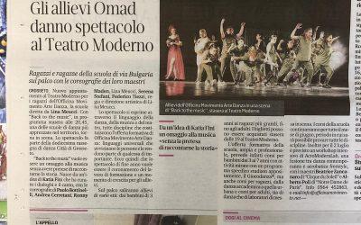 """""""BACK TO THE MUSIC """" 15 giugno 2019 – Il Tirreno"""