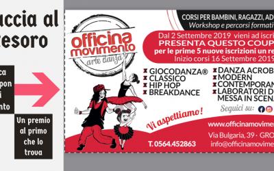 CACCIA AL TESORO Officina Movimento Arte Danza