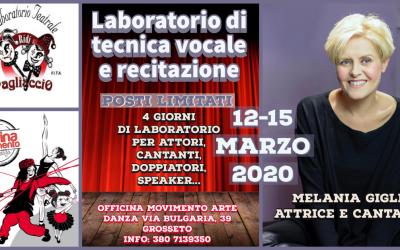 LABORATORIO DI TECNICA VOCALE E RECITAZIONE