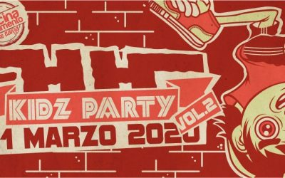 HH KIDZ PARTY VOL.2 – workshop-contest- free cypher – Grosseto 1 marzo 2020