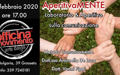 AperitivaMENTE LABORATORIO & APERITIVO SULLA COMUNICAZIONE